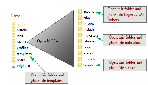 How to Place Files into MT4 folders – MT4Code